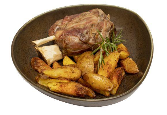 Свински джолан с картофки Уеджис